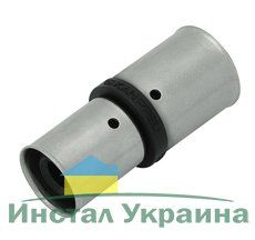 KAN Соединитель PPSU Press двухсторонний редукционный c пресс-кольцом 20х16 K-900350