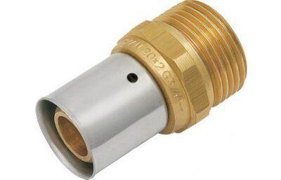 """KAN Соединитель press с пресс-кольцом с наружной резьбой 26x3 G3/4"""" K-080064 цены"""