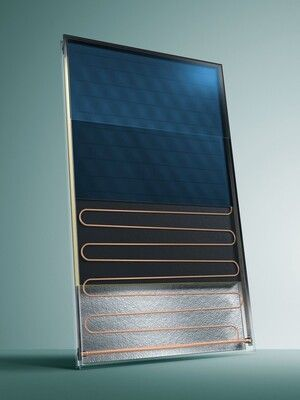 Солнечный коллектор Vaillant auroTHERM classic VFK 135/2 VD (вертикальний монтаж) цены
