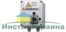 Пульт управления Pedrollo QEM 075 (однофазный) Мощность двигателя: 0,55 кВт (0,75 л.с.)