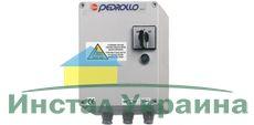 Пульт управления Pedrollo QET 400 (трехфазный) Мощность двигателя: 3 кВт (4 л.с.)