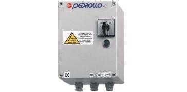 Пульт управления Pedrollo QET 300 (трехфазный) Мощность двигателя: 2,2 кВт (3 л.с.)