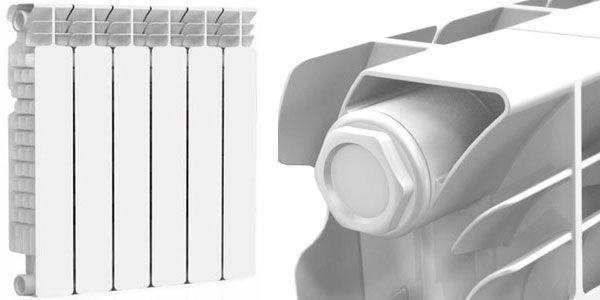 Радиатор алюминиевый Nova Florida SERIR 800/100 16 атм
