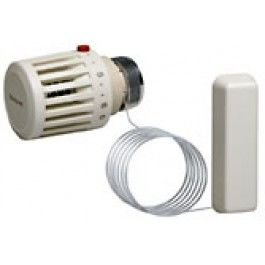 Термостатическая головка Honeywell T100MF-3612 (настройка 0 ... 27 C), М30х1,5, выносной сенсор цена