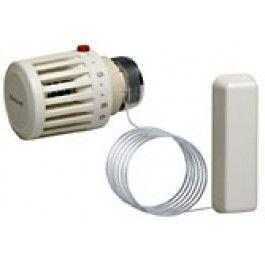 Термостатическая головка Honeywell T100MF-3612 (настройка 0 ... 27 C), М30х1,5, выносной сенсор