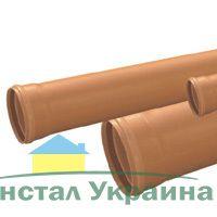 Труба пвх для наружной канализации VALPLAST 250x6.2х3м SN4