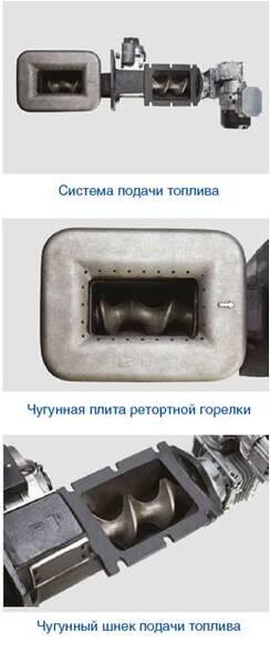 Пеллетный котел Buderus Logano G221 A-30-L чугунный 7738500831