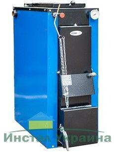 Твердотопливный котел длительного горения ТЕРМІТ-ТТ 32 кВт Стандарт (с теплоизоляцией и обшивкой)