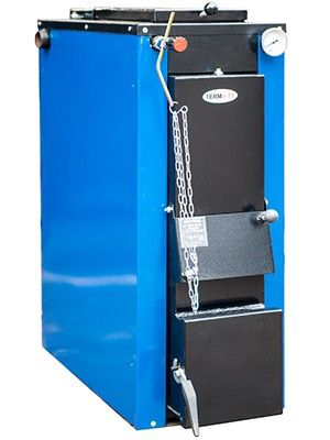 Твердотопливный котел длительного горения ТЕРМІТ-ТТ 12 кВт Стандарт (с теплоизоляцией и обшивкой) цена