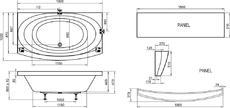 Акриловая ванна Ravak Evolution PU Plus 180x102