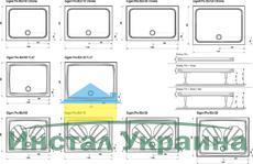 Душевой поддон Ravak серии Gigant Pro FLAT 100x80 белый