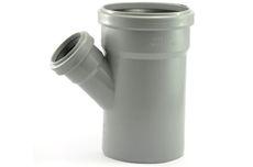 Мпласт тройник 110-50-45° для внутренней канализации