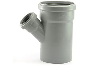 Мпласт тройник 110-50-45° для внутренней канализации цены