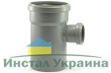 Мпласт тройник 110-50-87° для внутренней канализации