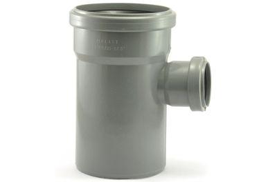 Мпласт тройник 110-50-87° для внутренней канализации цены