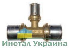 "Pexal Valsir Прес Тройник редукционный 26х32х26"""