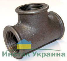 ТК Тройник Ду 50 (чугун, ввв)
