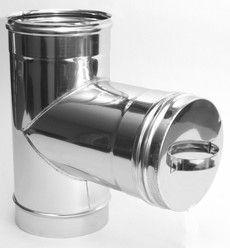 РЕВИЗИЯ из нержавеющей стали (AISI 304) 1,0мм ф160