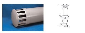 WAVIN Труба вентиляционная, коричневая; 160/110 (3060582414) для внутренней канализации