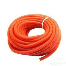 Гофра для труб отопления/водоснабжения Ф24/28 красная