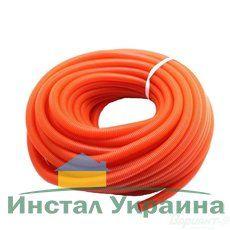 Гофра для труб отопления/водоснабжения Ф29/35 красная