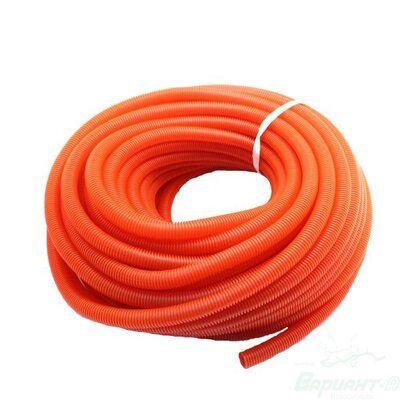Гофра для труб отопления/водоснабжения Ф18/22 красная цены