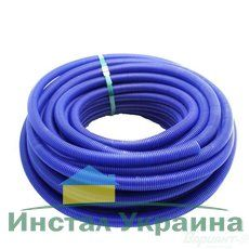 Гофра для труб отопления/водоснабжения Ф29/35 синяя
