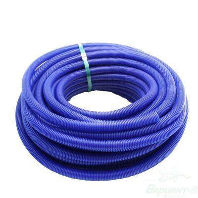 Гофра для труб отопления/водоснабжения Ф24/28 синяя цены