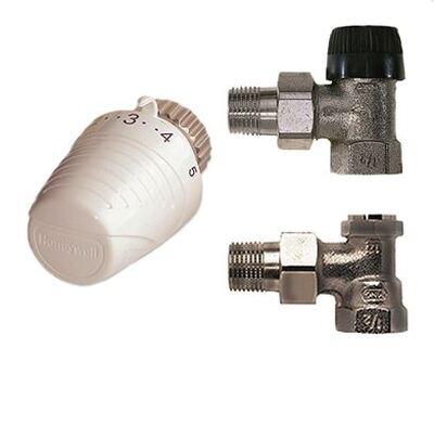 """Термостатический комплект Honeywell VTL320EA15 угловой 1/2"""" цена"""