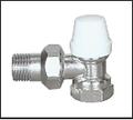 Кран термостатический угловой 1/2 с накидной гайкой ECO Tehnology 8002