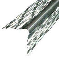 Угол для мокрой штукатурки оцинк, 3м шт, для защиты углов