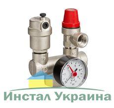 """Valtec (VT.460.0) Группа безопасности котла мощностью до 44 кВт. Резьба внутренняя, 1""""."""