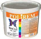 купить Polirem VD-1811 краска акриловая фасадная (10л.)