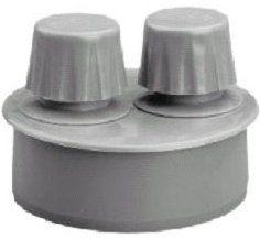 Interplast Клапан противовакуумный 50 для внутренней канализации цены