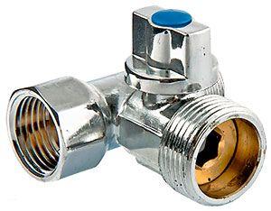 VT.256 Вентиль шаровый VALTEC для подключения с/т приборов 1/2`х3/4`х1/2` цена