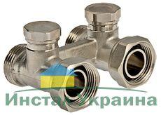 VT.345 , блок нижнего подключения радиатора 1/2 х 3/4 (комплект)