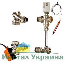 Насосно-смесительный узел без насоса Valtec VT.DUAL.0.130, монтажна длинна насоса 130 мм