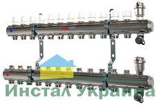 Коллекторная группа Valtec VTc 594.MNX. в сборе 1`х3 вих. ЕК.