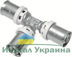 Valtec VTm.231 Тройник пресс 26x16x26