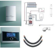 Пакет Vaillant ecoTEC plus VU OE 466/4+auroSTEP plus 2.250 HT+VRC470 +Патрон для смягчения воды подпитки (0020201550)