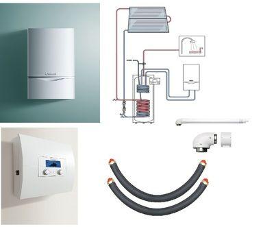 Пакет Vaillant ecoTEC plus VU INT 306/5+auroSTEP plus 2.250 HF+VRS620 (0020201557) цена