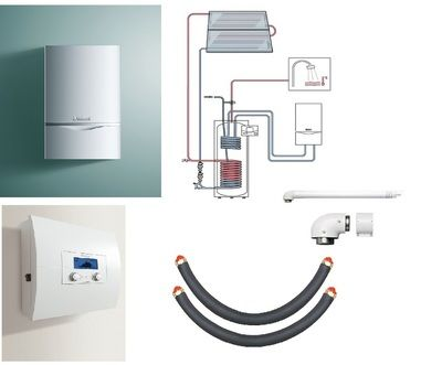 Пакет Vaillant ecoTEC plus VU INT 306/5+auroSTEP plus 2.250 HF+VRS620 (0020201559) цены