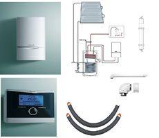 Пакет Vaillant ecoTEC plus VU OE 466/4+auroSTEP plus 3.350 HT+VRC470 +Патрон для смягчения воды подпитки (0020201551)