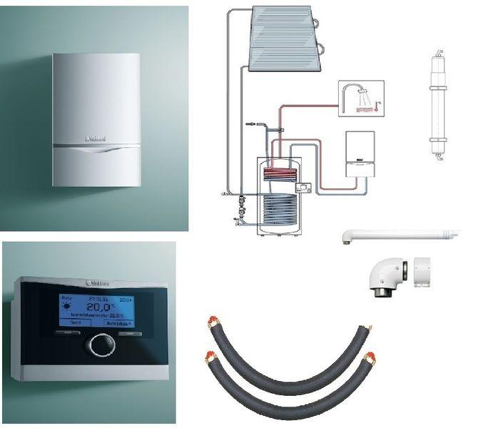 Пакет Vaillant ecoTEC plus VU OE 656/4+auroSTEP plus 3.350 HT+VRC470 +Патрон для смягчения воды подпитки (0020201556)