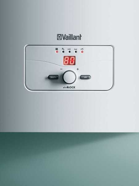 Электрический котел Vaillant eloBLOCK VE 21 (0010009379)