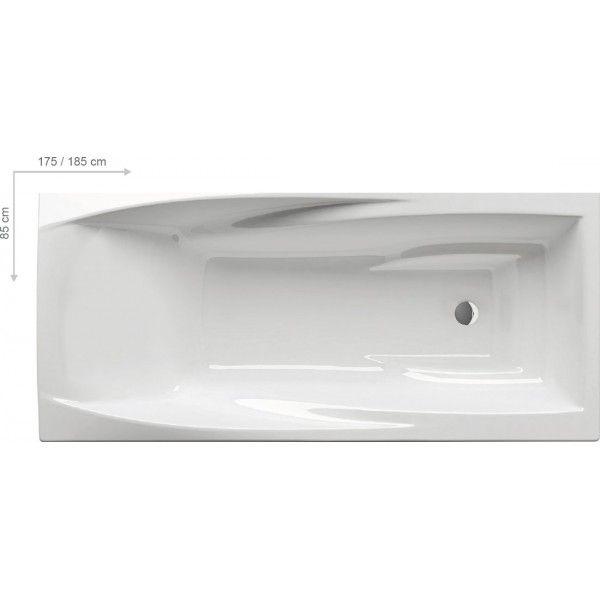 Акриловая ванна Ravak You 185x85