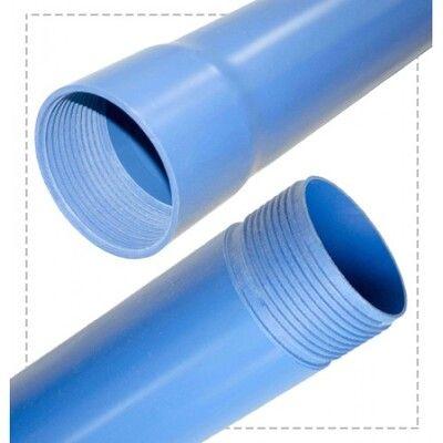 Valrom Труба ПВХ для скважин R10 TP101012503 Ф125x6,0 L=3m цена