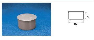 WAVIN EKOPLASTIK Заглушка ПП, белая; 32 (3061500805) для внутренней канализации цена