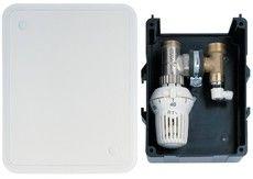 "Контроллер для систем ""теплый пол"" Honeywell T6102AUB15 "" RTL "", 20 ... 50 C , скрытый термостат , Kv = 1.7 м3 / ч"