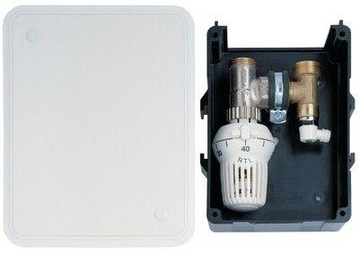 "Контроллер для систем ""теплый пол"" Honeywell T6102AUB15 "" RTL "", 20 ... 50 C , скрытый термостат , Kv = 1.7 м3 / ч цены"